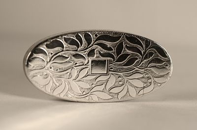 A George 111 sterling silver snuff box