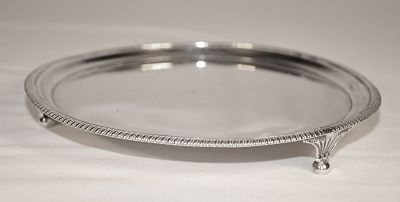 A George 111 sterling silver salver