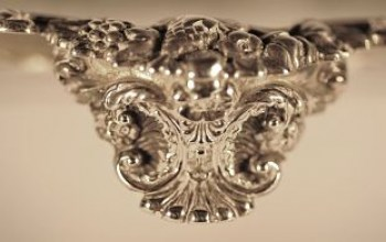 A pair of George 1V small silver salvers