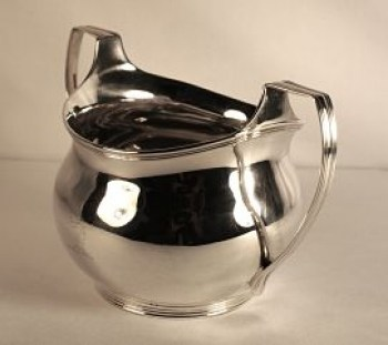 A George 111 silver sugar bowl