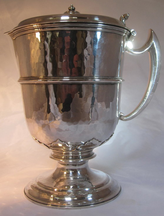 Britannia Standard silver wine ewer. Very heavy/museum condition