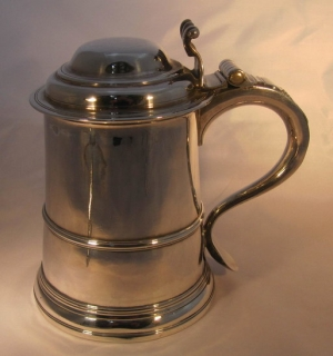 Stunning Antique Silver Tankards, Mugs and Goblets
